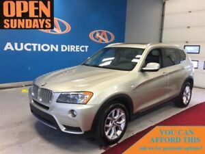 2014 BMW X3 NAVI! SUNROOF! XDRIVE! FINANCE NOW!