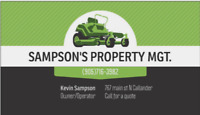Property Maintenance - grass and gardens alsoi do small repairs