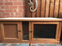 2x 4ft guinea pig hutches
