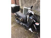 Honda ps 125cc damaged