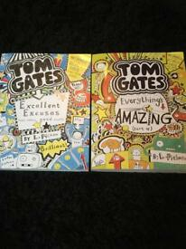 Brand new Tom Gates books x 2