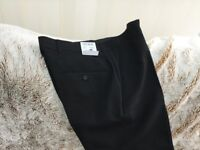 Brand new black trousers 32waist 29 length