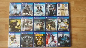 Ps4 games for sale!