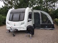 Ultima 390 Platinum Caravan Porch Awning from Sunncamp