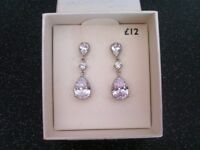 New ladies dress earrings from next. Half price!