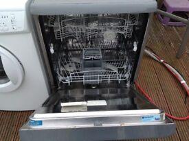 Dishwasher - Hotpoint Aquarius FDW60 - Graphite/Silver.