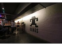 Part Time Bar Staff Required in Kongs Cardiff