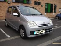 36,000 MILES AUTOMATIC DAIHATSU CHARADE 1.0 SMOOTH/ECONOMICAL. IMMACULATE CONDITION. 12 MONTHS MOT