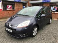 Citroen Grand C4 Picasso 1.6HDi Turbo Diesel 16v VTR+ 5 Door MPV P/EX 2 CLEAR