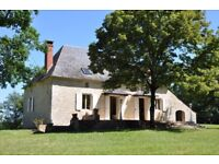 FRANCE DORDOGNE MANOR HOUSE WITH PRIVATE HEATED SWIMMING POOL ON 1.6 HA