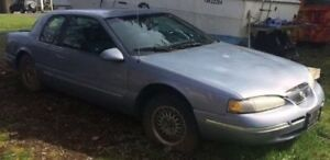 1996 Mercury Cougar Sedan