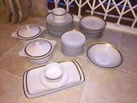 43 Piece China Dinner Set