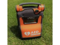Cardiac Science G5 AED Defibrillator - ALMOST NEW! NEVER USED RRP £1600!
