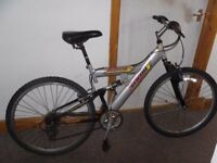 gents hellbent sollar silver mountain bike
