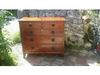 Georgian chest of draws
