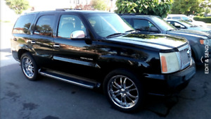2002 Cadillac Escalade with propane and gas fuel system