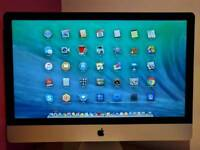 Apple iMac 27-inch 16GB 1TB Mint Condition