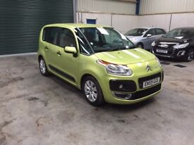2010 Citroen c3 Picasso vtr+ 1.6hdi Mpv 1 owner guaranteed cheapest in country