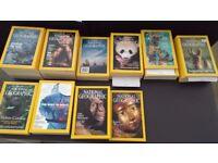 c 156 National Geographic Magazines: 1968-2003