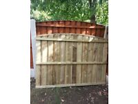 Heavy duty fence panel - 2 for £30