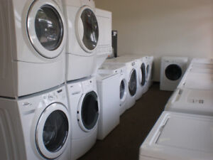 STACKING  WASHERS DRYERS -1 YEAR WARRANTY