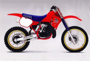 Parts wanted:1986 CR250