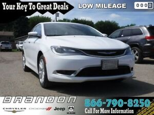 2016 Chrysler 200 Limited - Low Mileage, Navigation, Bluetooth,