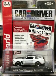 "A/W Car & Driver ""Approved Selection ""2012 Mustang Boss 302"