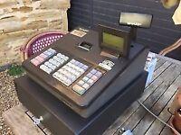 Sharp XE-207B cash register till shop thermal printer