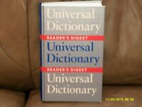 Reader's Digest Universal Dictionary in V.G.C.