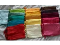Various shawls (stoles)