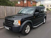 Land Rover discovery 3 2.7 diesel tdv6 auto 7 seater 2006