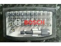 Bosch security screwdriver set 32 piece professional