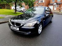 BMW 520DSE 5 SERIES 2010 FULL SERVICE 2 KEYS EXCELENT CONDITION LOW MILE 75000 £6750