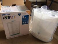 Reduced - Electric Avent 2 in 1 Steriliser