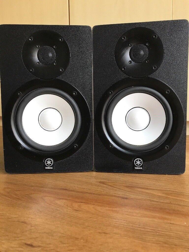 2 X Yamaha Hs5 Active Studio Monitors In Black Bournemouth Powered Monitor