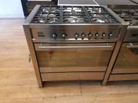 Smeg Dual Fuel Range Cooker 90cm width. Free Local Delivery