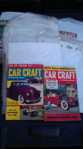 "1954-1959 ""Car Craft"" magazines ""Pocket Books"" (39)"