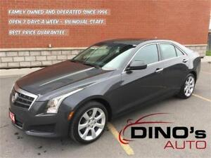 2014 Cadillac ATS AWD | $97 Weekly *OAC $0 Down / Sunroof / 2.0L