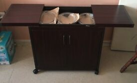 Wooden Hot Cupboard and Plate Warmer - LIKE NEW