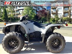2018 Yamaha Kodiak 450 EPS Gray (aluminum mag wheels)
