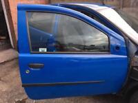 FIAT PUNTO MK2 3 DOOR DRIVER DOOR COMPLETE