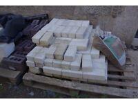 Bricks. 120 concrete common bricks