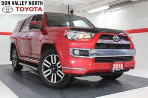 2016 Toyota 4Runner LIMITED PKG Sunroof Nav Btooth BU Cam Heated