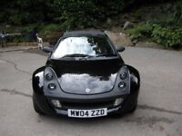 Rare, fine, very low mileage, Smart Roadster 80. FSH, new tyres, 1yr MOT. Like new. Unique example.