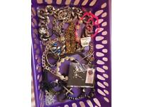 Jewellery bundle including gold plated bracelet