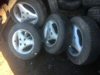 Toyota starlet alloy wheels by 13/14