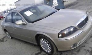 2000 Lincoln for sale silver