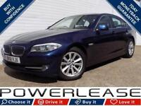 2011 61 BMW 5 SERIES 2.0 520D EFFICIENTDYNAMICS 4D 181 BHP DIESEL