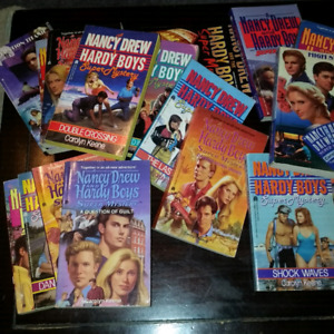 Collection of supermysteries ....Nancy Drew & Hardy Boys